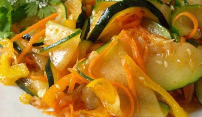 салат из кабачков заготовки на зиму
