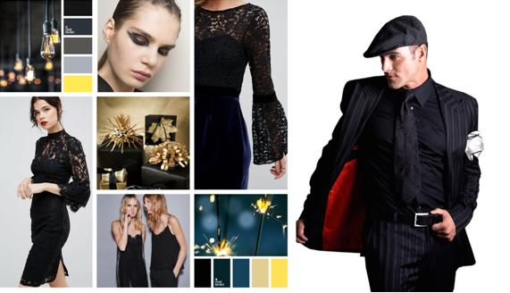 62e07f12be44d57 Для встречи Нового года девушкам подойдут наряды небесных цветов, платья  или костюмы простого покроя с маленькими дорогими аксессуарами.