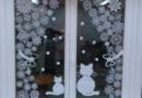 Трафареты на окна к Новому году 2021 для вырезания: шаблоны для распечатывания картинок