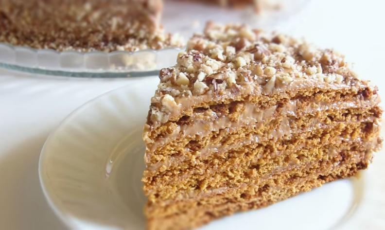 Вкусный медовый торт рецепт