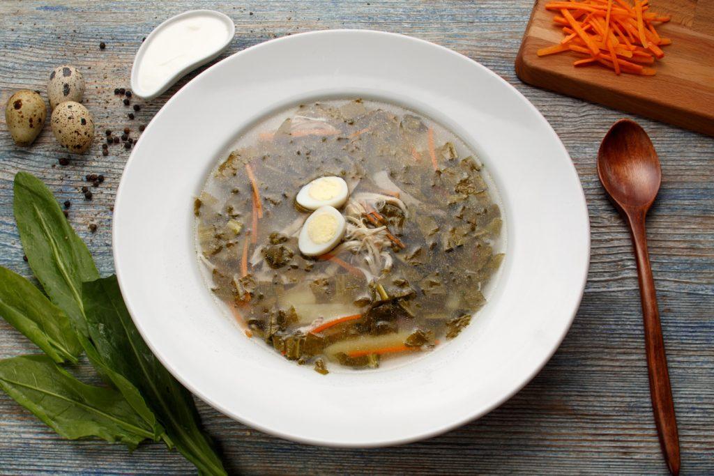 щавелевый суп из банки рецепт
