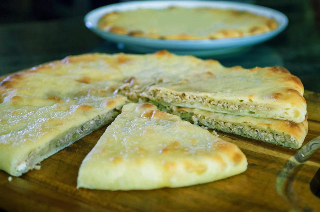 Осетинский пирог с капустой рецепт с фото пошагово