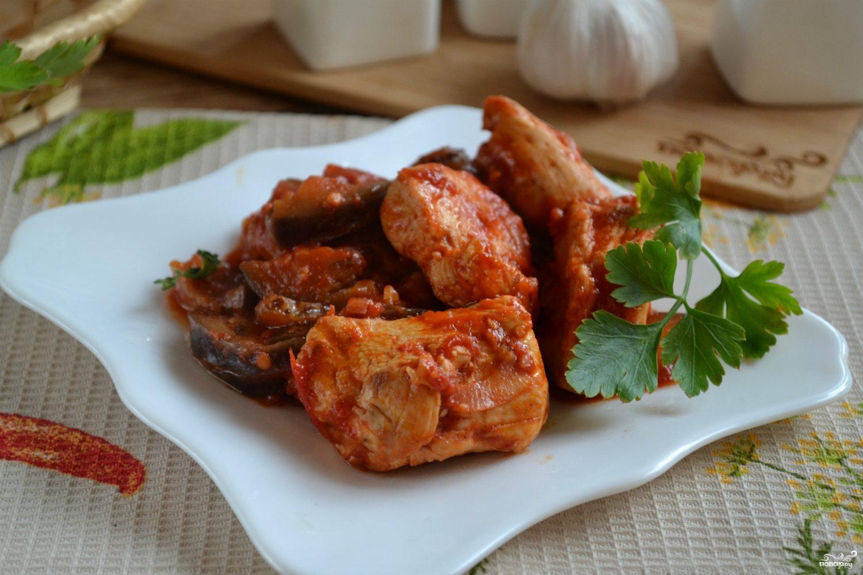 Чахохбили из курицы с картофелем пошаговый рецепт