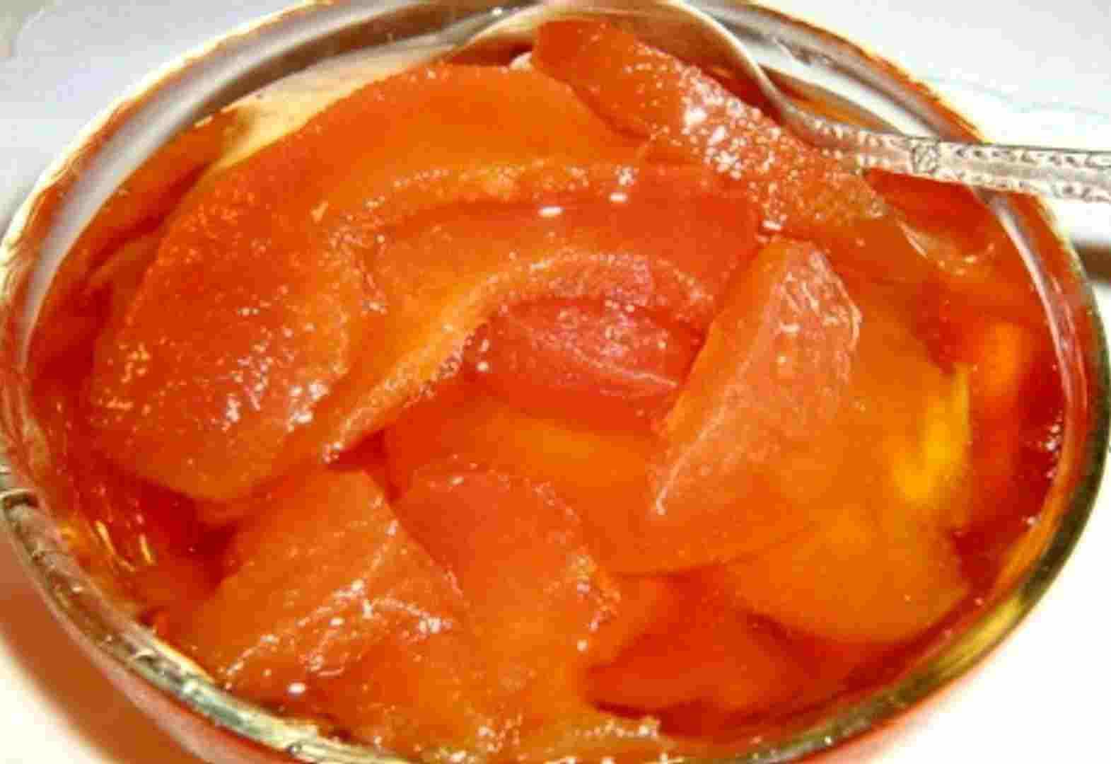 Варенье из айвы простой пошаговый рецепт с фото